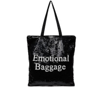 Emotional Baggage Sequin Tote Bag