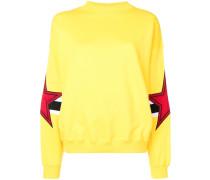 Sweatshirt mit Stern-Patches