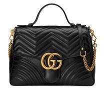 Mittelgroße Handtasche mit GG-Logo