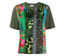 T-Shirt im Patchwork-Look