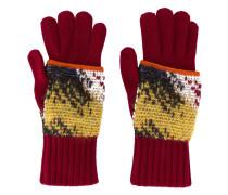 Handschuhe im Layering-Look