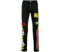 'Warning' Jeans