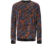 Pullover mit Camouflagemuster