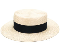 woven hat