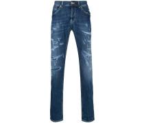 Jeans mit mittelhohem Bund