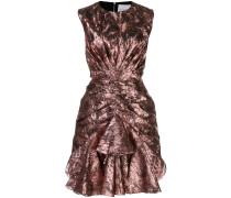 Ärmelloses Metallic-Kleid