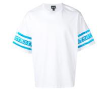T-Shirt mit Logo-Einsätzen