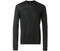 front prined longsleeved sweater