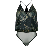 Cache Coeur printed bodysuit