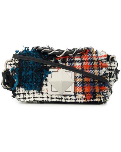 Sonia Rykiel Damen 'Le Copain' Tweed-Schultertasche Visa-Zahlung Verkauf Online Freies Verschiffen Echte Online Gehen Freies Verschiffen Eastbay Verkauf Am Besten X2P64ZIg