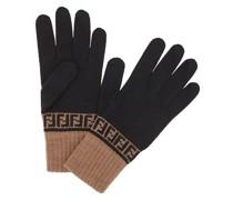 Handschuhe mit FF-Muster