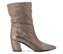 Stiefel im Metallic-Look