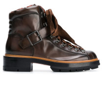 lace-up hiking ankle boots
