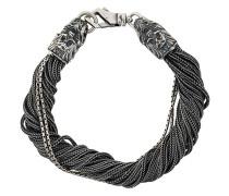 'Torsion' Sterlingsilber-Armband