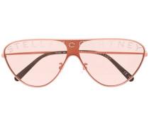 Sonnenbrille mit Glitter-Logo