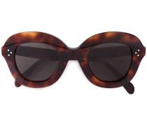 'Havana' Oversized-Sonnenbrille