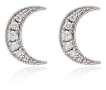 Weißgoldohrringe mit Diamanten