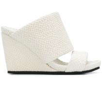 heeled wedge sandals