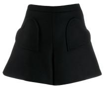 RED(V) heart-shape pocket shorts