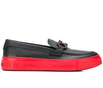 Penny-Loafer mit Gancio-Detail