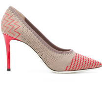 multi-pattern stiletto pumps