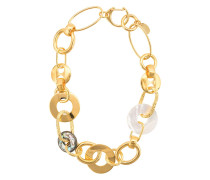 Halskette mit Ringen