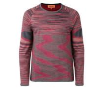Wendbarer Pullover mit Streifenmuster