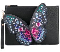 Clutch mit Schmetterling
