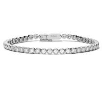 18kt 'Diamond Line' Weißgoldarmband