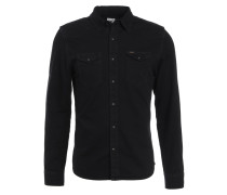 WESTERN SLIM FIT - Hemd - black