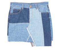 MIX - Jeansrock - medium blue