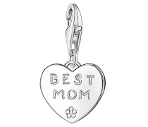 BEST MOM - Anhänger - silver-colored
