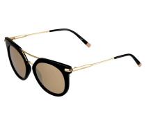 Sonnenbrille - black/gold