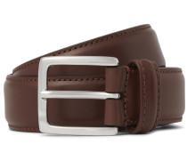 3cm Brown Leather Belt