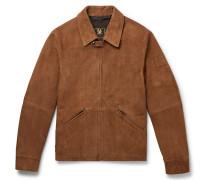 Cooper Suede Blouson Jacket