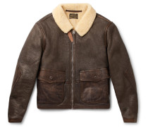 Slim-fit Shearling Jacket