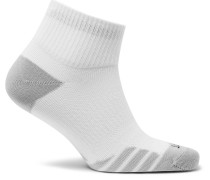 Three-pack Everyday Max Lightweight Dri-fit Socks - White