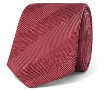 7cm Textured-silk Tie