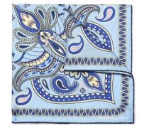 Paisley-print Silk-twill Pocket Square