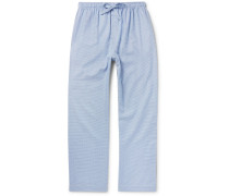 Barker Puppytooth Cotton Pyjama Trousers