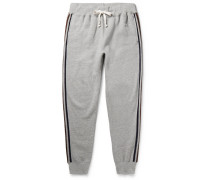 + Todd Snyder + Champion Harry's Tapered Fleece-back Cotton-blend Jersey Sweatpants