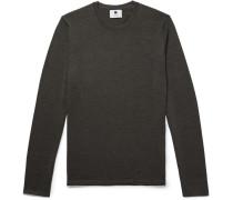 Anthony Merino Wool Sweater - Dark green