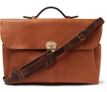 Hank Full-grain Leather Briefcase
