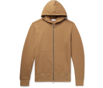 Flash Dual Loopback Cotton-jersey Zip-up Hoodie