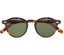 Miltzen Round-frame Tortoiseshell Acetate Sunglasses