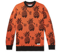 Cotton-Jacquard Sweater
