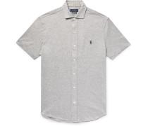 Mélange Cotton-piqué Shirt