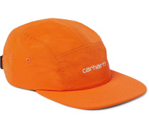 Logo-embroidered Nylon Baseball Cap - Orange