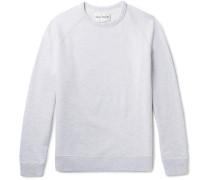 Cole Mélange Loopback Cotton-jersey Sweatshirt - Gray