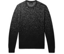 Splatter Birdseye Merino Wool Sweater